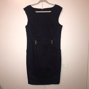 Ellen Tracy Navy Dress